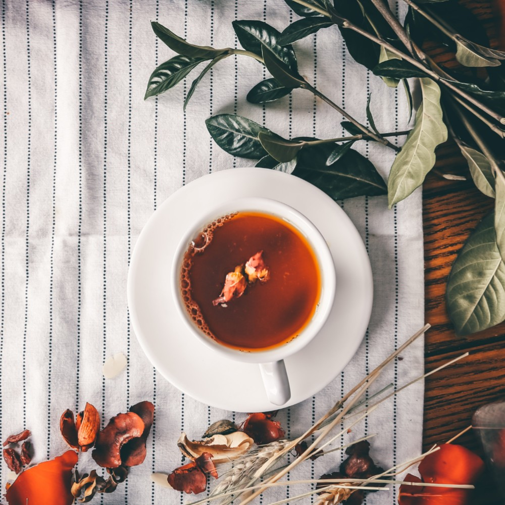 relaxing holiday tea blend